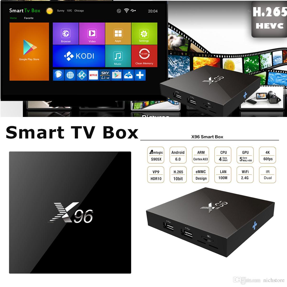 ТВ приставка X96 4K 2/16 Гб + супер прошивка