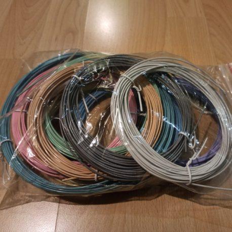 Набор ABS пластика для 3D ручек 10 цветов по 10 метров