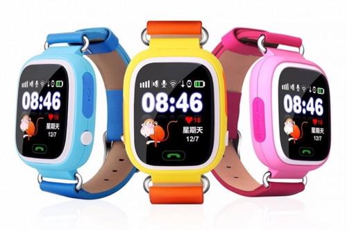 Детские смарт-часы с GPS Q90 Q100