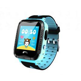 Детские смарт-часы с GPS V6G (Q528S) голубые