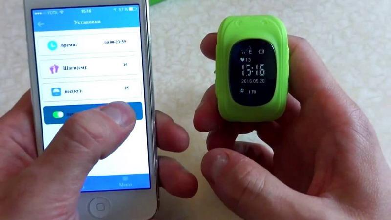 Настройка детских смарт часов GPS под Феникс